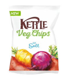 Chip Vegetales con Sal Marina Kettle
