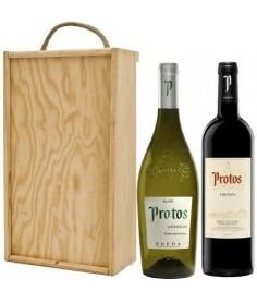 Estuche de vino Protos Verdejo + Protos Crianza