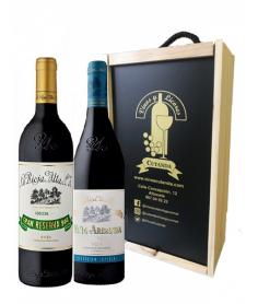 Estuche de vino Viña Ardanza + Gran Reserva 904