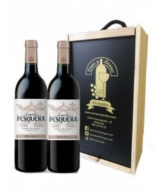 Estuche de vino Pesquera Crianza 2 botellas