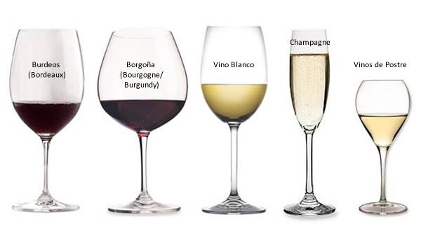 5 consejos pr cticos para servir el vino for Cristaleria copas