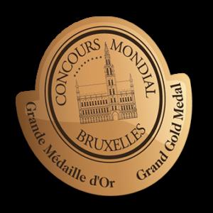 Medalla del Concurso Mundial de Bruselas